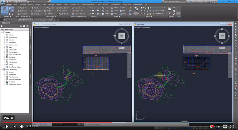 Export to AutoCAD with Object Sets.